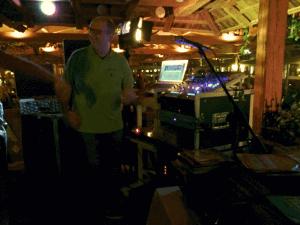 DJ Frank versteht es, die Tanzfläche zu füllen